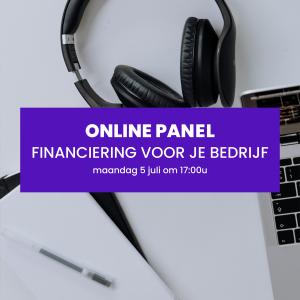 online panel financiering voor je bedrijf novia Connect